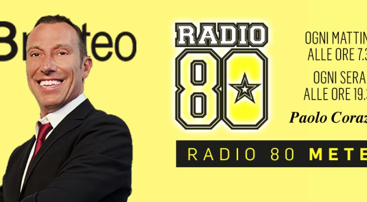 Paolo Corazzon a Radio 80