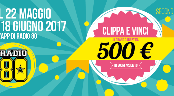 Vinci un carnet da 500 € di buoni acquisto - 2° edition