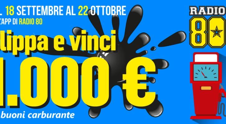 Vinci 1.000 € in buoni carburante