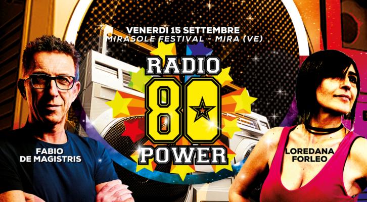 15.09.2017 80 Power - Mirasole Festival - Mira (VE)