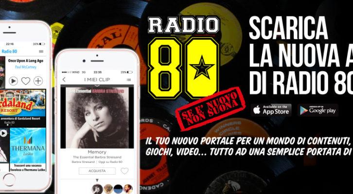L'App di Radio 80