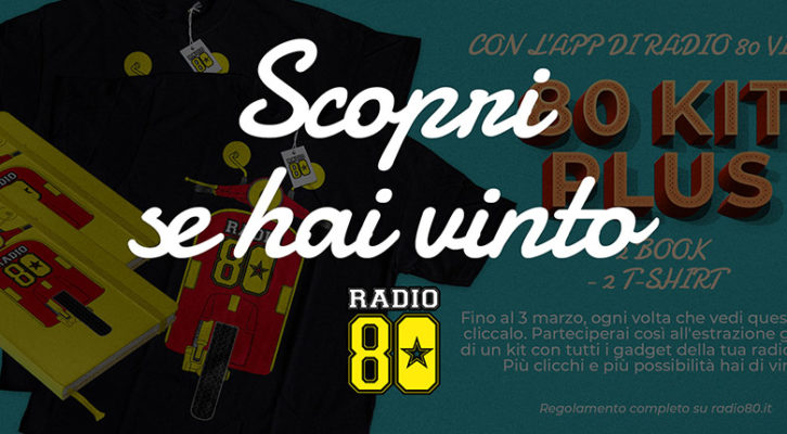 Vinci l'80 Kit Plus di Radio 80