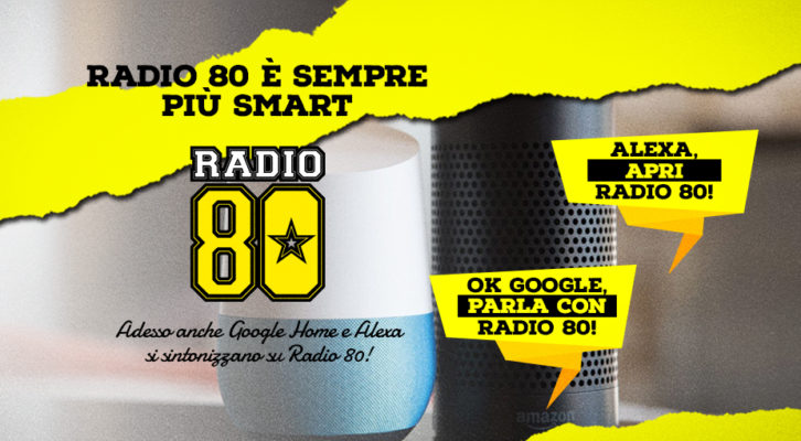 Smart Speakers Radio 80