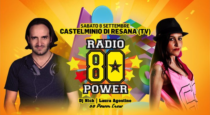 08.09.2018 80 Power - Castelminio di Resana TV