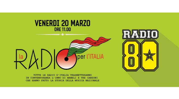Venerdi 20 marzo ore 11.00: La Radio per l'Italia