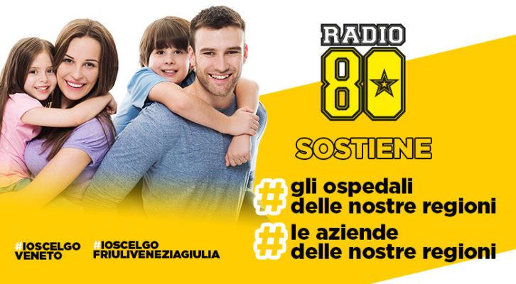 Radio80 sostiene #ioscelgoveneto #ioscelgofriuliveneziagiulia